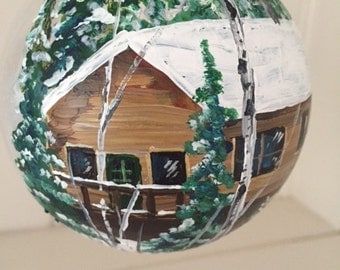 Custom House or Cabin Ornament