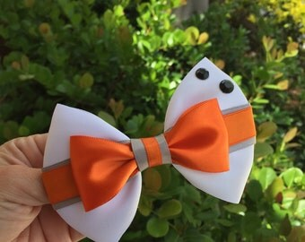 BB-8 star wars hairbow