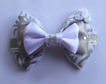 Wedding hair bow