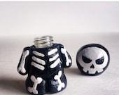 Skeleton Stash Mojo Doll / Medicine Vial