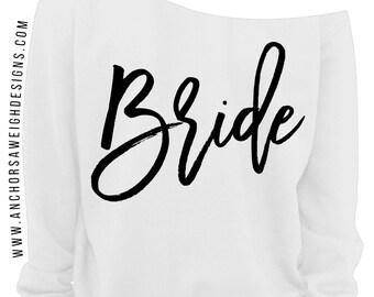Bride Slouchy Sweatshirt