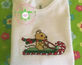Christmas | Candy Cane Ride | Infant Bodysuit/Onesie