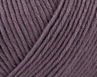 STRIKDET Organic Cotton Dusty Plum / Økologisk Bomuld - støvet blomme