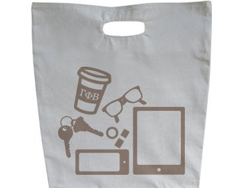 Gamma Phi Beta What's In Your Tote?