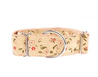 Dog collar, collar for dog, dogs collar,  collars, gold,big dog collar