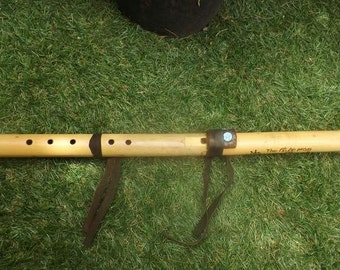 Native American Style Bamboo Flute Key G# by Marton