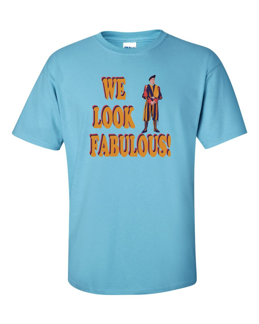 Swiss Guard T-shirt - We Look Fabulous - Swiss Guard T-shirt
