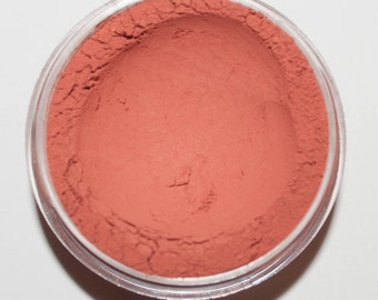 Orange Rush Blush 4, Mineral Matte Blush, 20 gram sifter jar