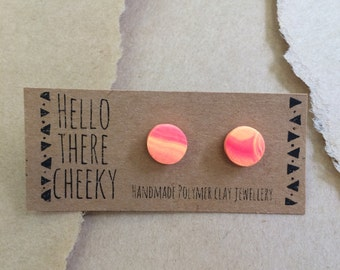 Polymer Clay Studs
