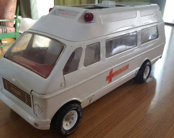 Tonka Ambulance Toy Van