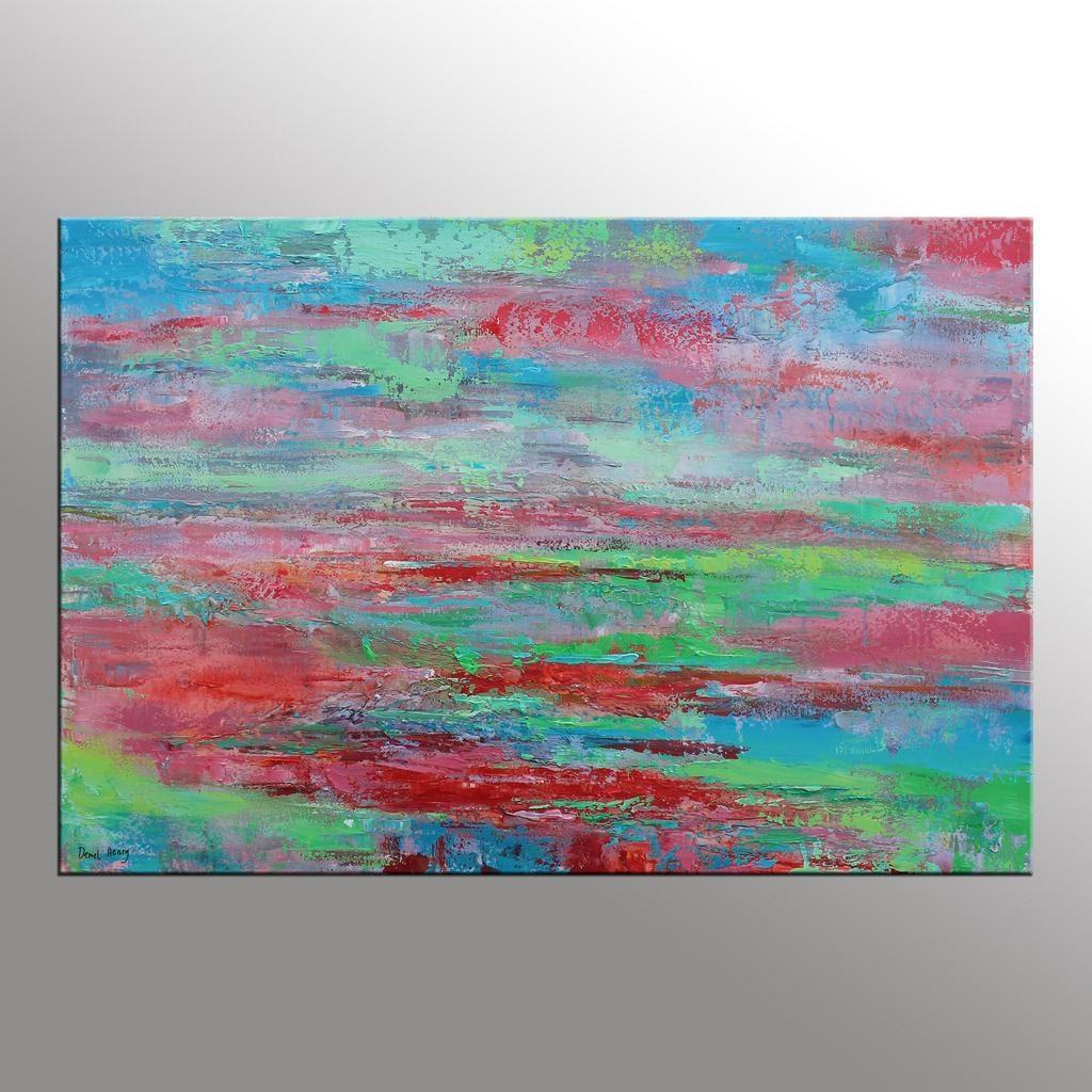 Original Painting Large Art Kitchen Wall Decor Abstract