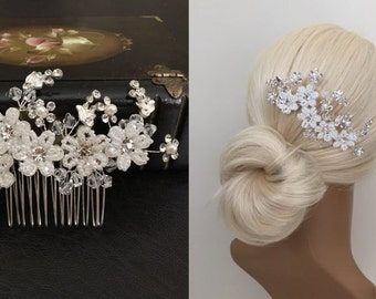 Wedding Hair Comb, Bridal Hair Accessories, Wedding Headpiece