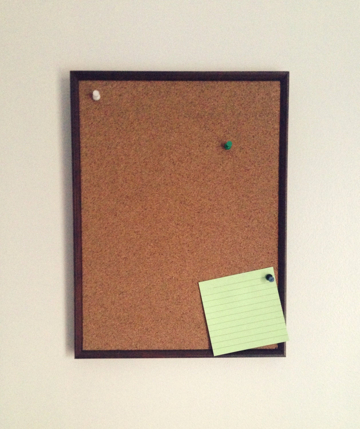 Wood Framed Cork Board Memo Board Home Message Home