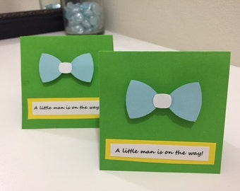 Baby Shower Mini Notecard- Set of 3
