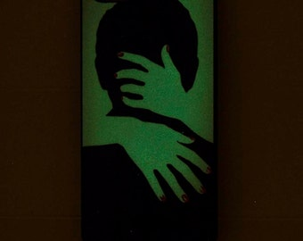 Glow In The Dark Phone Case iPhone 5s Case Love Phone Case Glowing Hipster Girlfriend Gift Wife Gift Cool