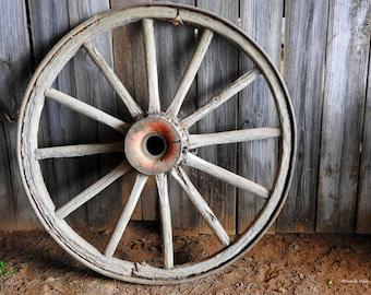 Rustic Wagon Wheel Decor, FREE SHIPPING,Fine Art Photography, Western Decor, Rustic Wall Art, Farm House Decor