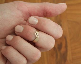 Bronze Midi Ring