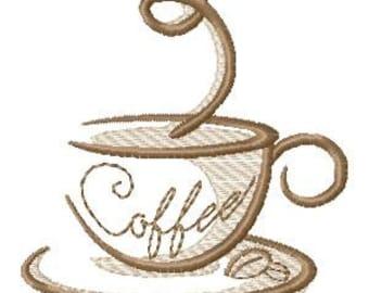 espresso machine embroidery