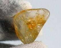 Citrine Tumbled Stones, small Premium, Grade A, Feng Shui, Wealth, Happiness, Prosperity, Abundance
