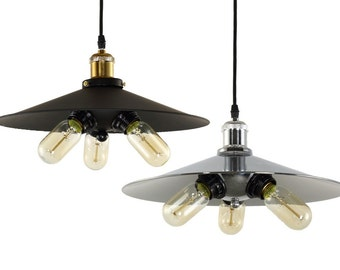 loft pendant light 3bulbs industrial pendant lighting vintage pendant light fixture industrial lamp modern