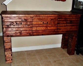 Rustic Wood Buffet, Dining Room Buffet Table, Entryway Table, Rustic Kitchen Furniture, Behind the Couch Table, Dining Room Furniture, Home