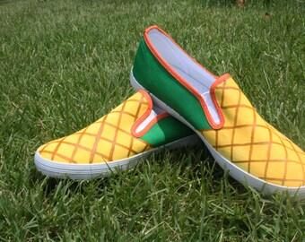 Pineapple Slip-Ons