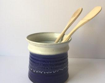 Vintage Blue Pottery