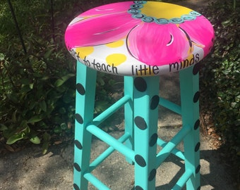 Teacher's stool, classroom decor, classroom furniture, kid's stool