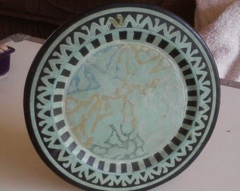Antique Arabic Plate, Islamic Plate, Unique Treasure, Very Rare and Collectable Item