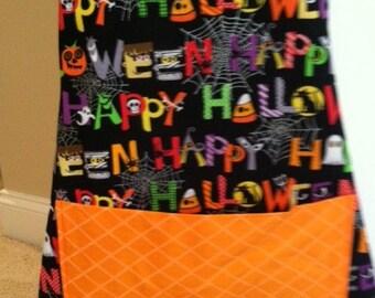 Boy's Happy Halloween apron