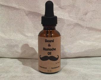 Beard & Mustache Oil