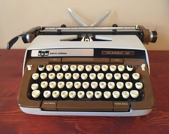 Smith-Corona Classic 12 Typewriter