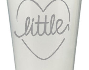Big/Little Sister Plastic Cup
