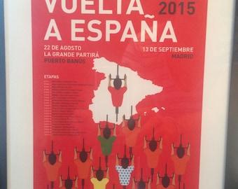 8x10 Vuelta a Espana Print