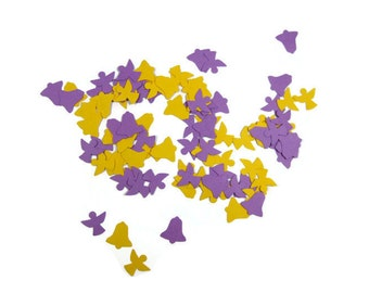 Angel and Bell Paper Confetti You Choose the Colors