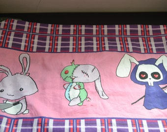 Zombie Bunny Pillow