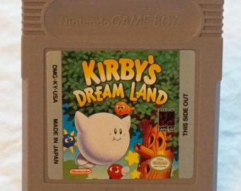 Gameboy Belt Buckle - Kirby Dream Land