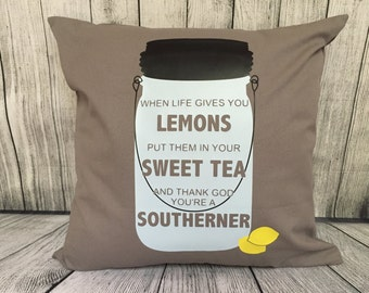 Pillow - Sweet Tea