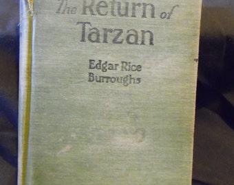 The Return of Tarzan by Edgar Rice Burroughs - 1915