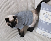 Pet Jackets for cats dogs Pets clothing Knit pets sweater Knit cats dogs sweater Pet accessoires Cat dog clothing Cat jumper Dog lover gifts