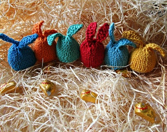 Easter bunny egg Knit egg cosy Rabbit egg cosy Egg warmer Easter decor Knit easter egg cosy Easter deco kitchen Easter egg hat Egg bunny