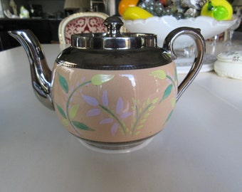 ENGLAND SUDLOW BURSLEM Teapot with Lid