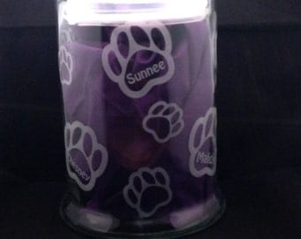 Personalized Doggie Jar