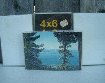 Vintage Acrylic 4 x 6 Frames