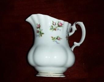 Vintage ROYAL ALBERT  ENGLAND Winsome Roses Floral Creamer
