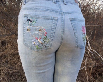 Custom jeans for Destini