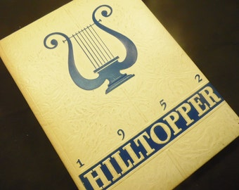 1952 Hilltopper Yearbook Fredonia High School