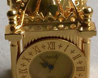 Vintage church mantel clock
