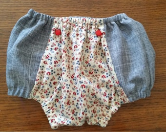 vintage floral shorts - several sizes available