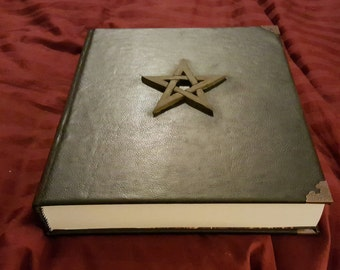 Faux Leather Book of Shadows